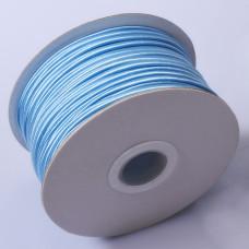 Sznurek do sutaszu chiński neon blue 3mm