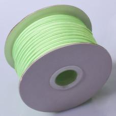 Sznurek do sutaszu chiński neon green 3mm