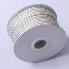 Sznurek do sutaszu chiński light gray 3mm