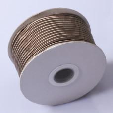 Sznurek do sutaszu chiński light bronze 3mm
