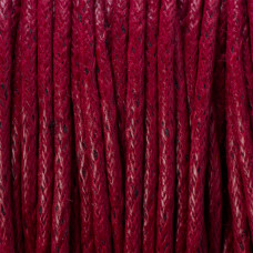 Sznurek bawełniany woskowany szary 1,5mm