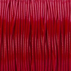 Sznurek powlekany czerwony 1,5mm