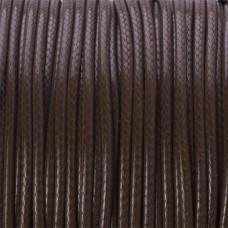 Sznurek powlekany brązowy 2mm