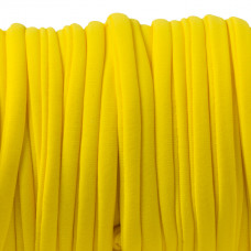 Sznurek lycra neon yellow 5mm