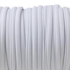 Sznurek lycra biały 5mm