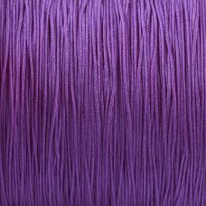 Sznurek do makramy fioletowy 0,5mm
