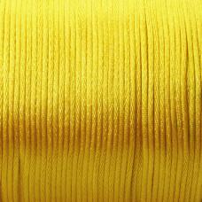 Sznurek gorsetowy 2mm żółty