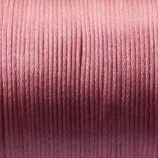 Sznurek gorsetowy 2mm róż indyjski