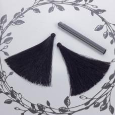 Chwost z wiskozy czarny 10cm