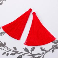 Chwost z wiskozy czerwony 10cm