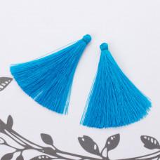 Chwost z wiskozy niebieski 6,5 cm