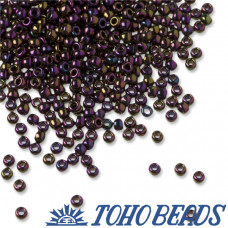 Koraliki TOHO Round 11/0 Metallic Iris Purple