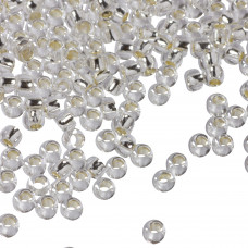 Koraliki TOHO Round 8/0 Silver-Lined Crystal