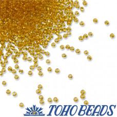 Koraliki TOHO Round 15/0 Transparent Topaz