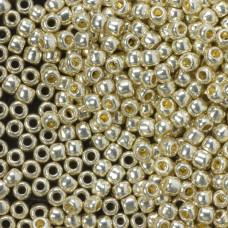 Koraliki TOHO Round 6/0 Permanent Finish - Galvanized Aluminum