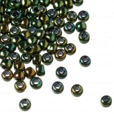 Koraliki TOHO Round 6/0 Higher-Metallic Iris Green