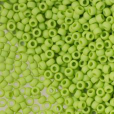 Koraliki TOHO Round 8/0 Opaque-Frosted Sour Apple