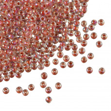 Koraliki TOHO Round 11/0 Inside-Color Rainbow Crystal/Sandstone Lined