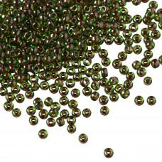 Koraliki TOHO Round 11/0 Inside-Color Peridot/Fuschia Lined