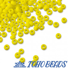 Koraliki TOHO Round 8/0 Opaque-Frosted Dandelion