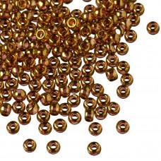 Koraliki TOHO Round 8/0 Gold-Lustered Transparent Pink