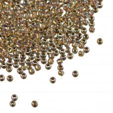 Koraliki TOHO Round 11/0 Gold-Lined Rainbow Crystal