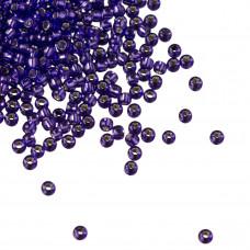 Koraliki TOHO Round 11/0 Silver-Lined Purple