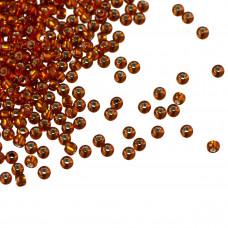 Koraliki TOHO Round 11/0  Silver-Lined Burnt Orange