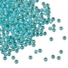 Koraliki TOHO Round 11/0 Silver-Lined Milky Aqua