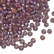 Koraliki TOHO Round 8/0 Silver-Lined Rainbow Amethyst