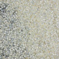 Koraliki TOHO Round Silver-Lined Milky White 15/0