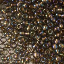 Koraliki TOHO Round 6/0  Gold-Lined Rainbow Black Diamond