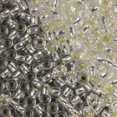 Koraliki TOHO Round 6/0  Silver-Lined Crystal