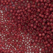 Koraliki TOHO Round 8/0 Permanent Finish - Silver-Lined Milky Pomegranate
