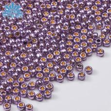 Koraliki TOHO Round 8/0 Permanent Finish Galvanized Pale Lilac