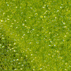 Koraliki TOHO Treasure Trans-Rainbow Lime Green