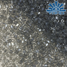 Koraliki TOHO Hex 11/0 Lustered Black Diamond