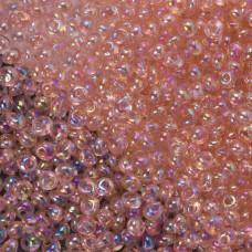 Koraliki TOHO Magatama 3mm Trans-Rainbow Rosaline