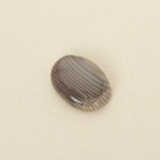Krzemień pasiasty kaboszon owal 30x22 mm