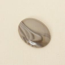 Krzemień pasiasty kaboszon owal 40x30 mm