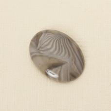 Krzemień pasiasty kaboszon owal 41x30 mm