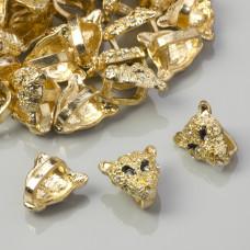 Przekładka tygrys z kryształkami 17mm