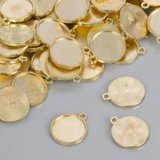 Baza do zawieszki w kolorze złotym 16.5mm