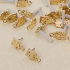 Kolczyki sowy z oczkiem 14 mm