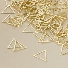 Baza metalowa trójkąt 15x17mm