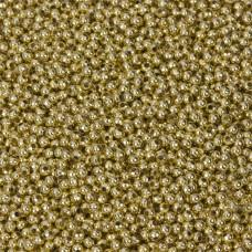 Kulki gładkie w kolorze złotym 2,4mm