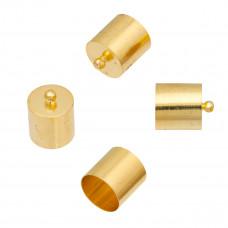 Końcówki w kolorze złota 11,5mm